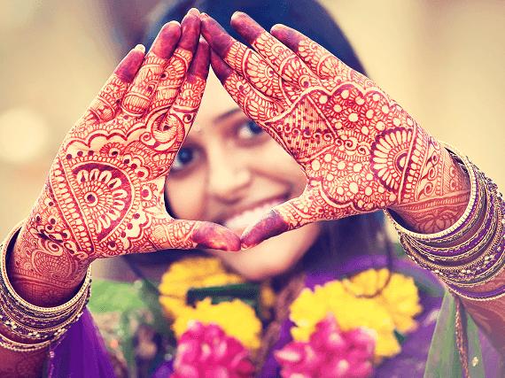 Indická henna
