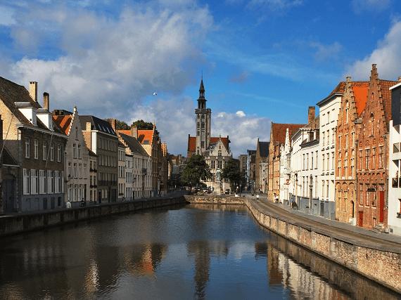 Historické mesto Brúgg