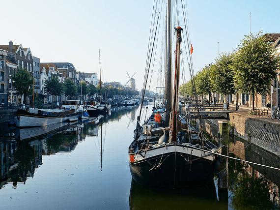 Historické centrum Rotterdamu