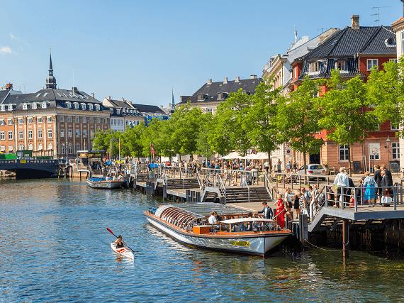 Mesto Kodaň v Dánsku