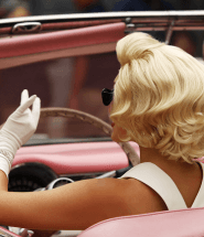 Marilyn Monroe v kabriolete